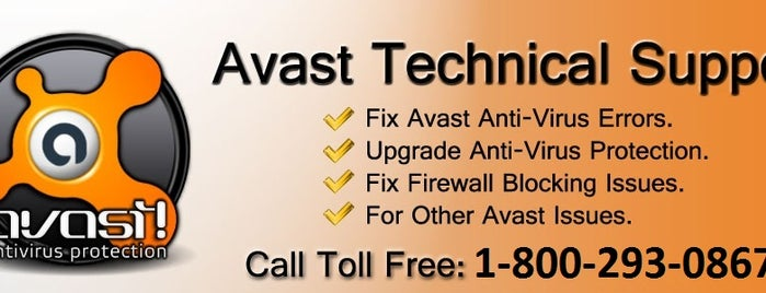 Florida is one of 800-293-0867 Avast Antivirus support phone number.