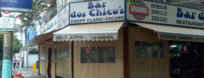 Bar dos Chico's is one of When in Rio.