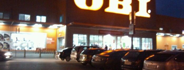 OBI is one of Магазины.