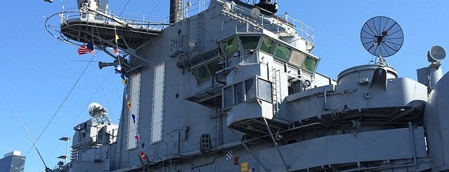 Intrepid Sea, Air & Space Museum is one of The Hell's Kitchen List by Urban Compass.
