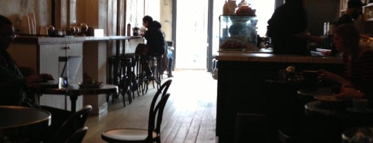 Cafe Madeline is one of NY Espresso.