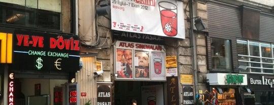 Atlas Sineması is one of mistiklal.