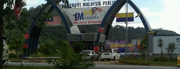 Kampus Tetap Universiti Malaysia Perlis (UniMAP) is one of Learning Centers,MY #5.