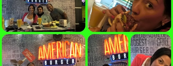 American Burger is one of Lugares Visitados.