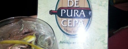 De Pura Cepa is one of Comer en Madrid.