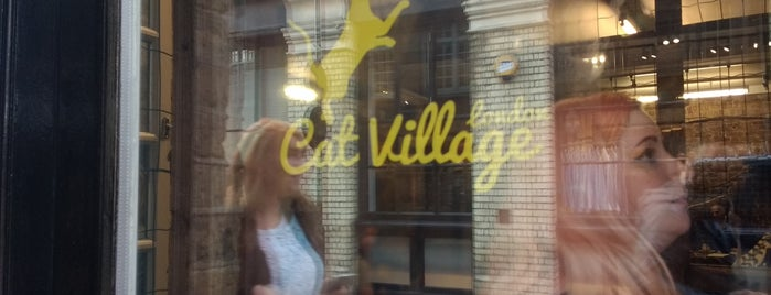 London Cat Village is one of Cafés.