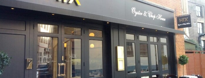 Hix Oyster and Chop House is one of Eat London 2.