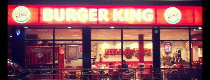 Burger King is one of Gezdim gördüm.