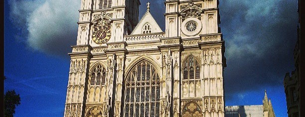 Westminster Abbey is one of My Amazing Race.