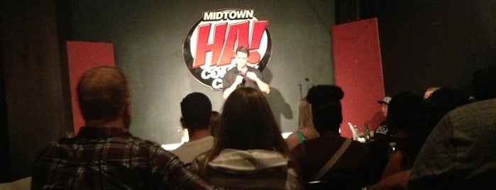 HA! Comedy Club is one of 2012 - New York.
