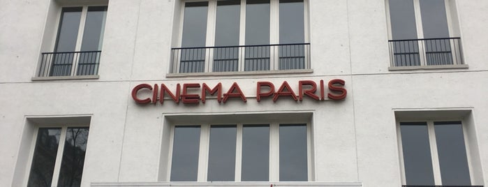 Cinéma Paris is one of nice cinemas.