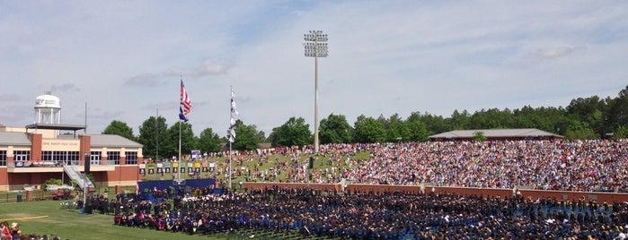 Paulson Stadium is one of A Not So Tourist Guide to Statesboro, GA.
