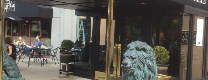 The Capital Grille is one of Favorites-Providence.