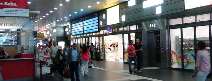 Essen Hauptbahnhof is one of Bahnhöfe Deutschland.