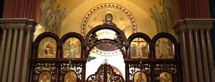 Greek Orthodox Cathedral of the Annunciation is one of 50 Years of Baltimore Preservation Award Winners.
