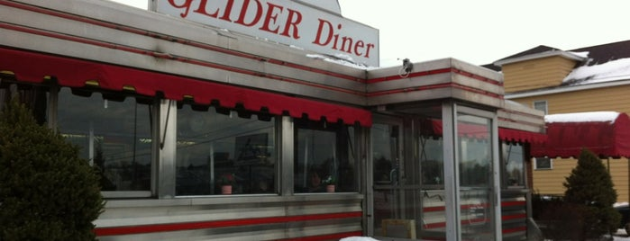 Glider Diner is one of Restaurants & places to try.
