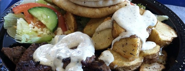 Grecian Gyro is one of Eat/Drink Local.