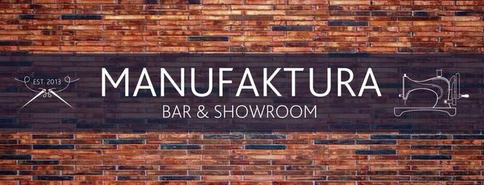 Manufaktura Bar & Showroom is one of Wi-Fi пароли Одесса / Wi-Fi Passwords Odessa.