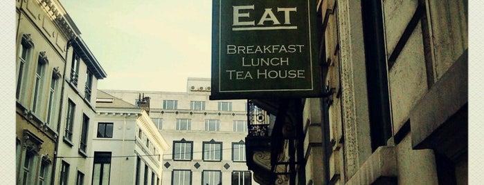 Tea & eat is one of Terrasse is in the Garden - Brussels.