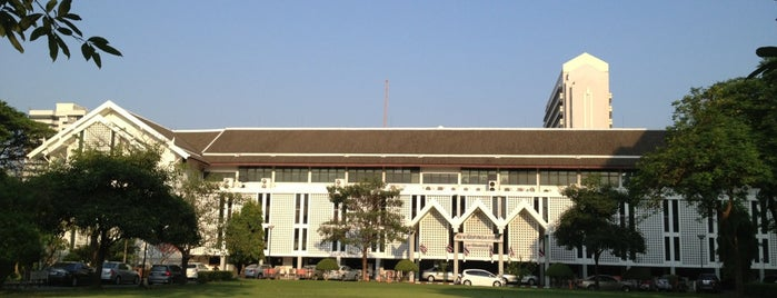The 50th Anniversary Memorial Building is one of Chulalongkorn University.