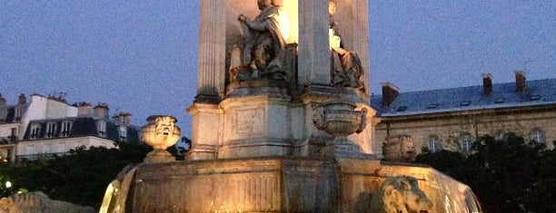 Place Saint-Sulpice is one of Paris.