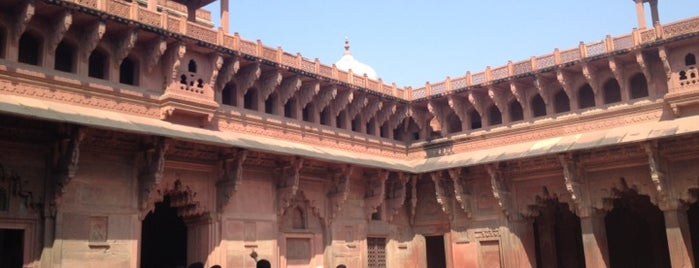 Agra Fort is one of My TripS :).
