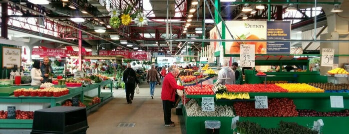 Marché Jean-Talon is one of Montreal 2015.