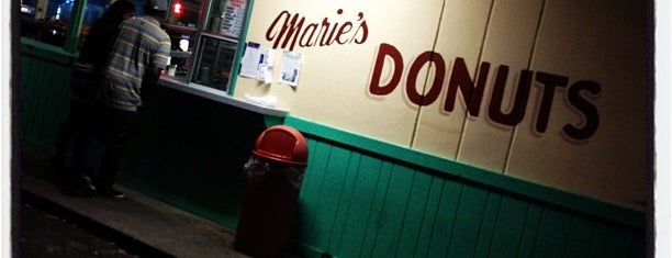 Marie's Donuts is one of My local favorites.