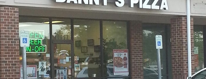 Dannys Pizza and Subs is one of The Usual Places.
