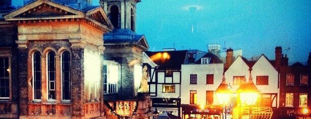 Kingston Market Place is one of London 🇬🇧.
