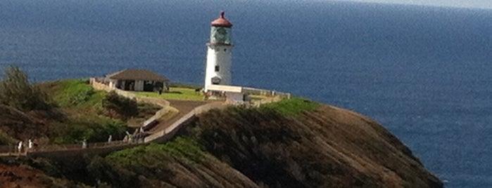 Kilauea Point Lighthouse is one of Kaua'i, HI.