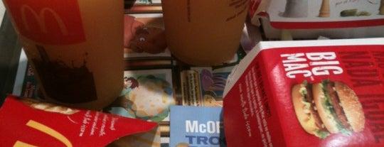 McDonald's is one of Rio de Janeiro.