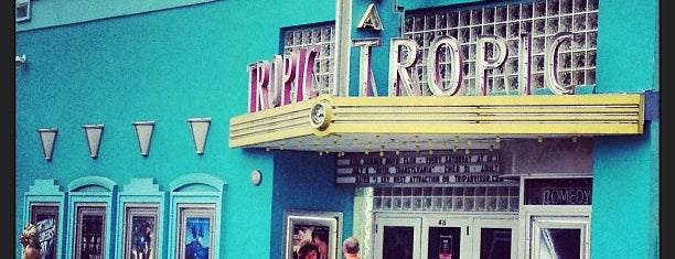 Tropic Cinema is one of My Key West.