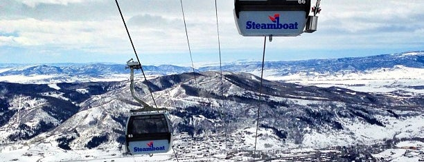 Steamboat Resort is one of Ski resorts I've been to..