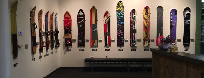 Burton Snowboards Flagship Store is one of SNOWBOARD SHOPS.