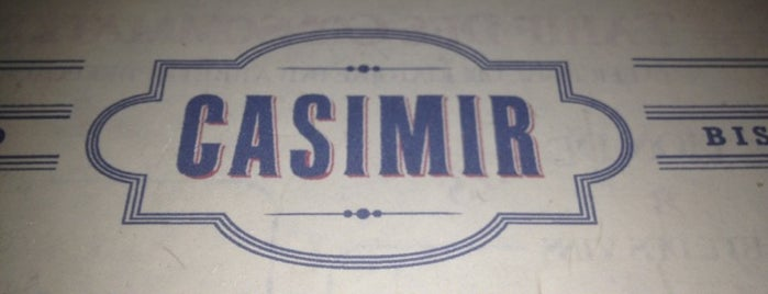 Casimir is one of East village restaurants.