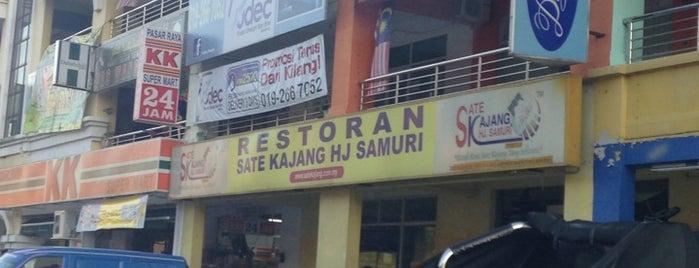 Sate Kajang Haji Samuri is one of 1. Selangor Darul Ehsan.