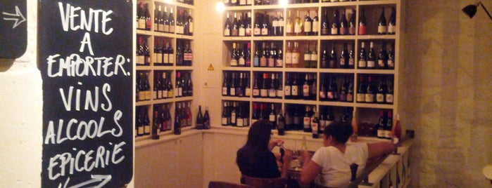 Le Siffleur de Ballons is one of The VERY best wine bars in Paris.