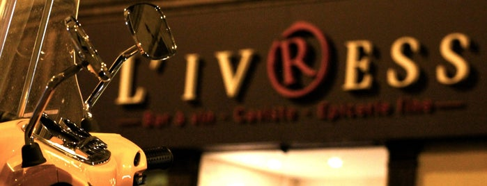 L'Ivress Sentier is one of The VERY best wine bars in Paris.