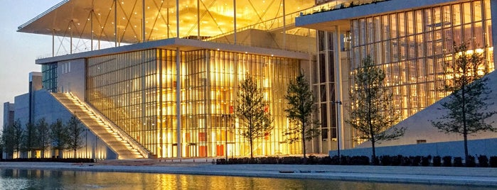 Stavros Niarchos Foundation Cultural Center is one of coffee off-center.