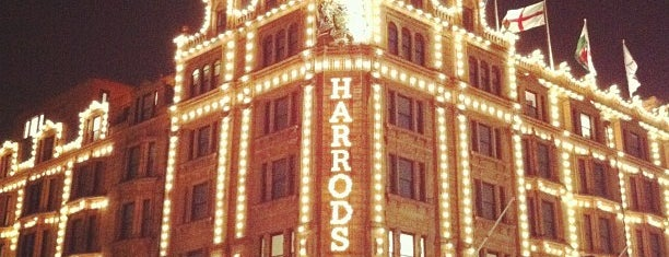 Harrods is one of Bucket List Places.