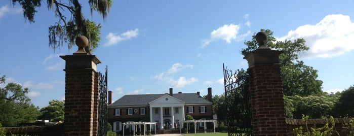 Boone Hall Plantation is one of my charleston places.