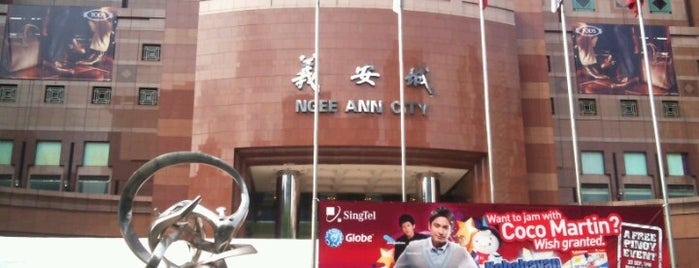 Ngee Ann City is one of To-Do in Singapore.