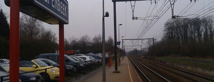 Station Diepenbeek is one of Bijna alle treinstations in Vlaanderen.