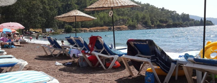 Erine Beach Club is one of Marmaris.