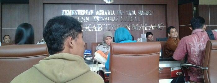 BPN KABUPATEN MALANG is one of TK. Taman Harapan,jl.dr.cipto-malang.