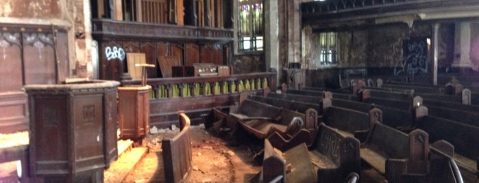Woodward Avenue Presbyterian Church is one of Detroit in Ruins.