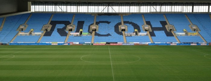 Ricoh Arena is one of UK & Ireland Pro Rugby Grounds.