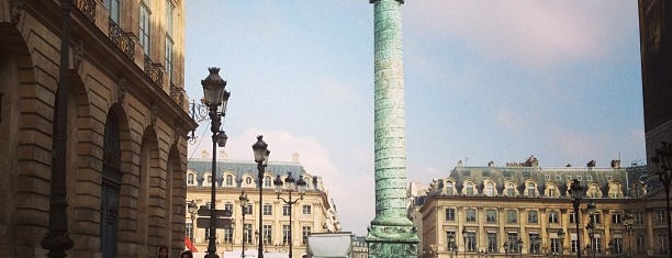 Place Vendôme is one of Lunch.