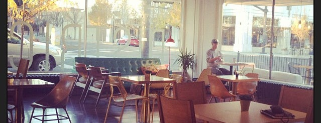 The District Coffee House is one of Boise.